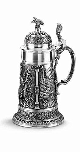 Artina 11360 - Beer mug with lid, design by poacher