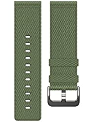 Fitbit Blaze Nylon Accessory Band, olive, Large