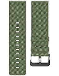 Fitbit bracelet nylon pour montre intelligente Blaze, Mixte Adulte, Olive, Taille L