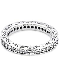 Pandora Damen-Ring Ring Silber 190618CZ