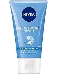Nivea Gel Nettoyant Fraicheur Peaux Normales à Mixtes 150 ml - Lot de 3