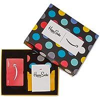 Carte cadeau Amazon.fr Dans un Coffret avec Chaussettes Happy Socks (Taille Unique)