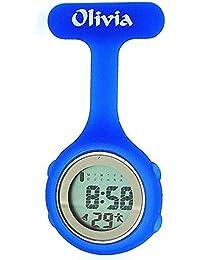 Olivia Kollektion blaue digitale Multifunktion Krankenschwester Uhr TOC74