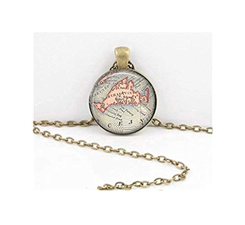 Vintage Ouija Board Mystische Okkult-Halskette, Inspiration Schmuck, Kuppel-Glasornamente, handgefertigt -