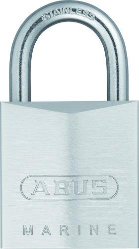 Abus 75IB/30 - Candado cromado llave de seguridad arco Inoxidable 30mm