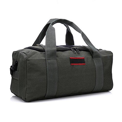 una borsa di tela di grande capacità borsa borsa,esercito green b un esercito di verde