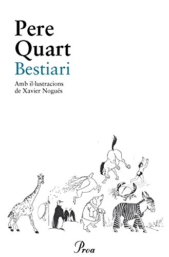 Bestiari (Catalan Edition) por Pere Quart