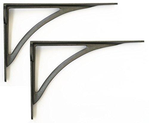 Staffe Mensole Ferro.Heritage Casting Coppia Di Staffe In Ghisa Per Mensole In