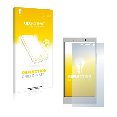 upscreen Matt Schutzfolie kompatibel mit Gionee Elife E8 - Entspiegelt, Anti-Reflex, Anti-Fingerprint