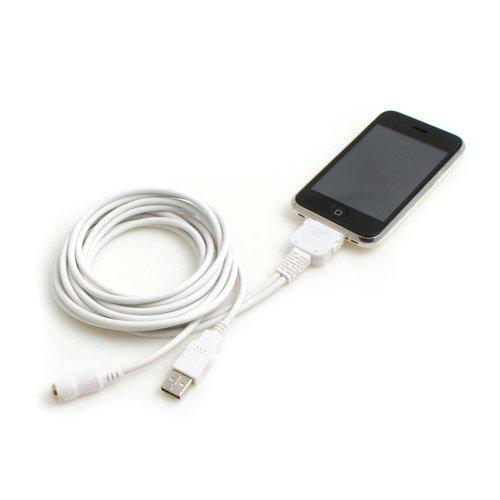 System-S DockConnector auf USB u. Sound - Kabel für Apple iPhone Classic 3G 3GS 4 iPod Touch 1G 2G 3G 4G 1g Ipod Touch