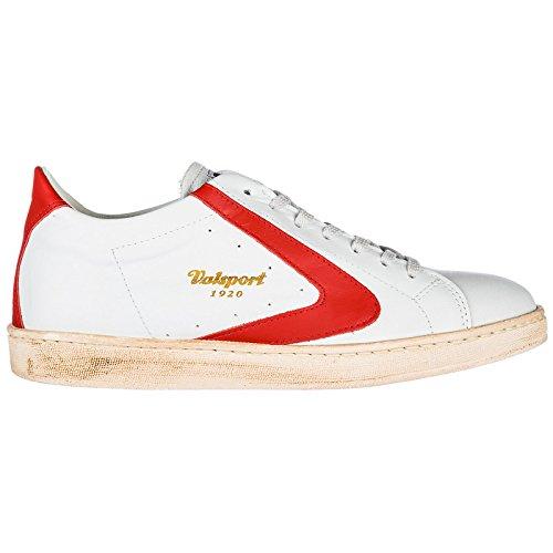 Valsport 1920 Herrenschuhe Herren Leder Schuhe Sneakers Rot EU 42 TOUR003