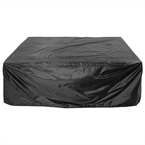 Gartenmöbelbezüge - Outdoor-Möbelbezüge Wasserdichter Sofaschutz für Outdoor 200 x 160 x 70 cm (Schwarz) -