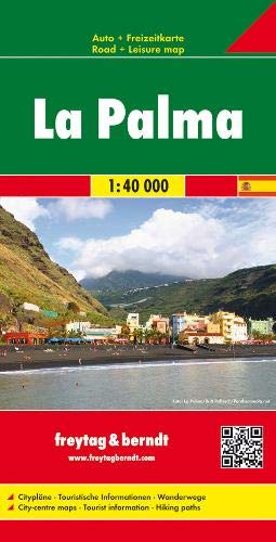 La Palma, Autokarte 1:40.000, freytag & berndt Auto + Freizeitkarten