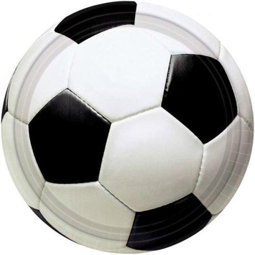 8 Party-Teller Fußball