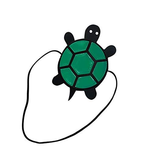 Committede Mode-Cartoon-Schildkröte Nette Kleine Kleinkind Kinder Rucksack Tier Cartoon Mini Kinder Tasche für Baby Mädchen Junge Alter Schulter Messenger Bag Clutch Bag Geldbörse -
