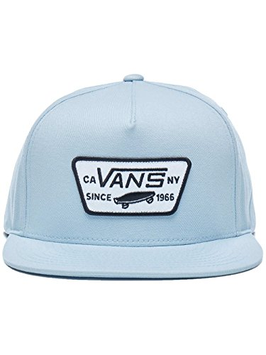 Vans Herren Kappe Full Patch Snapbac Baby Blue