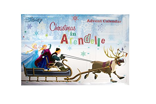 Disney Frozen völlig unverfroren Adventskalender 24 Türchen mit Bastel- und Malspaß (Diy Minion Kostüm Erwachsene)