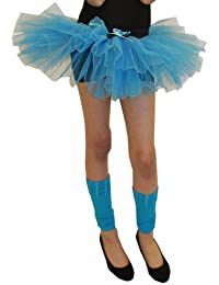 Crazy Chick Girls 3 Layer Tutu Skirts Dance Costume Hen Night Party Fancy Dress Accessory