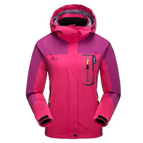 7VSTOHS Chaquetas Softshell Ligeras Mujer Impermeable