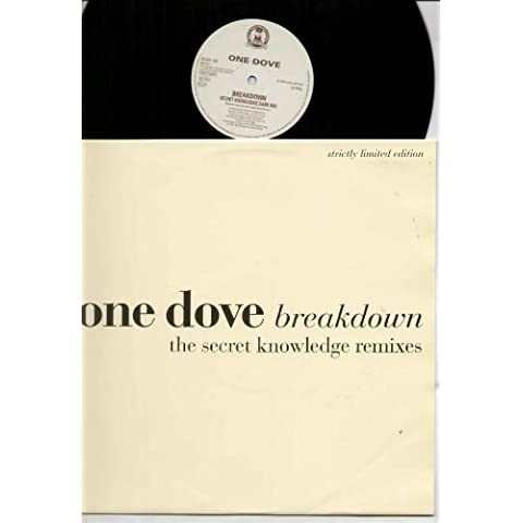 ONE DOVE - BREAKDOWN - secret knowledge mixes - 12 inch vinyl