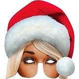 Mme Santa Mask - Masque de Noël - Une taille