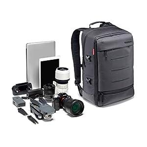 Manfrotto Manhattan Rucksack Mover-30, Mehrzweckrucksack, für den Transport von Kamera und Zubehör, aus…