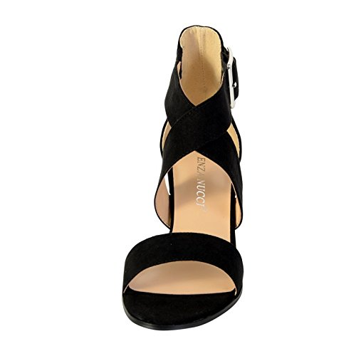 Sandale Talon Enza Nucci Ql2813 Noir Noir