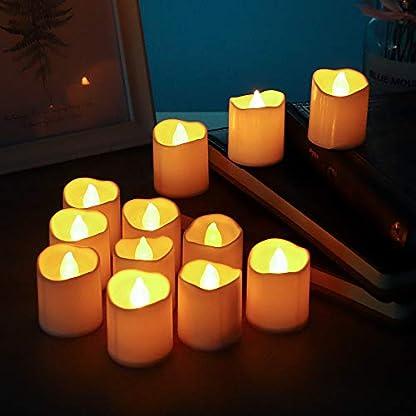 QHYK-LED-Kerzen-Elektrische-Flackernde-Teelichter-Flammenlose-Batteriebetriebene-Enthalten-CR2032-Batterien-Flackernde-warme-Gelb