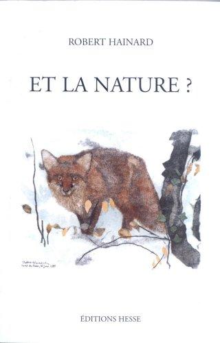 Et la nature ? Réflexions d'un peintre