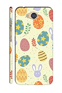 AMAN Cartoon Eggs Lite Colour 3D Back Cover for Gionee S6 Pro