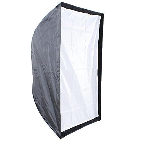 DynaSun SFTUMB 80x120 cm Boite Lumière Softbox Parapluie Professionnel Haute Température avec Speed Ring S-Type pour Flash Lumière Studio Photo Vidéo