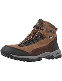 Lico - Zapatillas de senderismo para hombre Marrón marrón