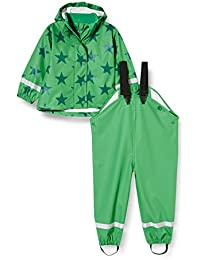 Fred's World by Green Cotton Rainwear Set Star Chaqueta Impermeable para Bebés