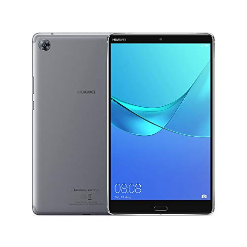 "Huawei Mediapad M5 8"" Tablet(Grey) - (Octa-Core Processor, 4 GB RAM, 32 GB eMMC,2K IPS Screen, Android 8.0)"