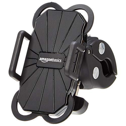 AmazonBasics - Soporte universal teléfono bicicleta