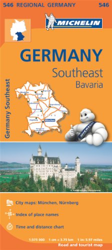 germany-southeast-bavaria-regional-map-546-michelin-regional-maps