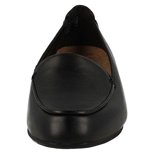 Clarks Janey Mae Damen Derby Schnürhalbschuhe Black Leather