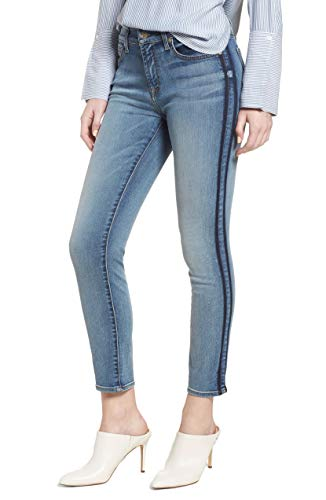 7 For All Mankind Women 32X27 Stretch Ankle Skinny Jeans