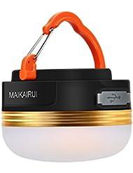 MAIKAIRUI Camping Lantern--Ultra Bright 250 Lumens,Usb Rechargeable,Magnetic,Battery Built in(1800mAh),3 light models, Emergency Light