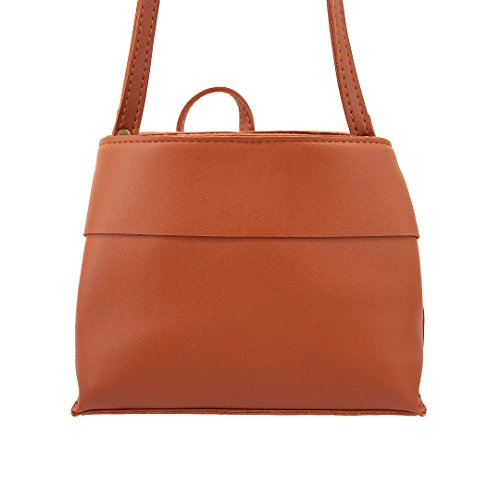 Multi-mo, Borsa a spalla donna vinaccia rosso Wine Red Light Brown