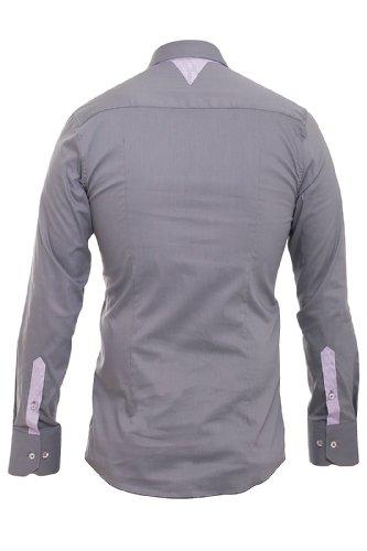Redbridge Herren Regular Fit Freizeithemd Men´s Shirt 41611 Anthrazit