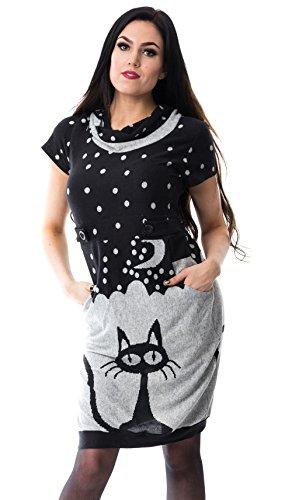 innocent-kleid-cat-night-dress-grau-s
