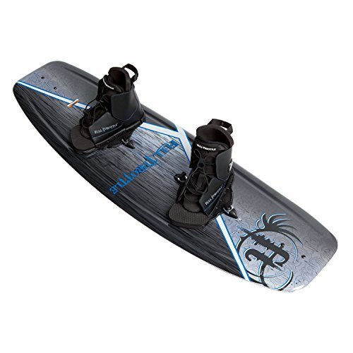 Full Throttle Aqua Extreme Wakeboard Kit (Black/Blue, 55.1 x 21.6-Inch/ 140cm x 42cm) by Absolute Outdoor