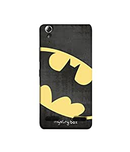 Purple Eyes Exclusive Designer Printed Silicon Case for Lenovo A6000 Batman