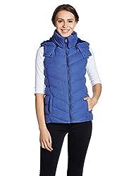 US Polo Womens Cotton Jacket (UWJK0108_Bright Cobalt_XX-L)