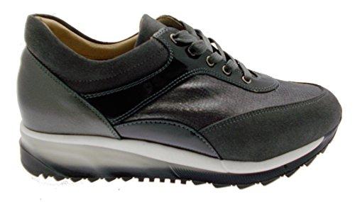 art C3719 scarpa donna lacci ortopedica grigio 37 grigio