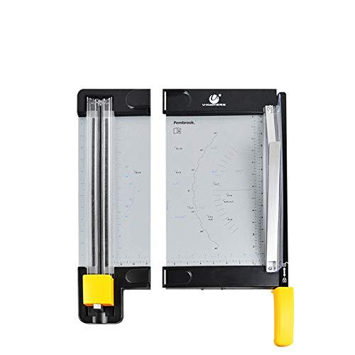 LIDU Präzision Papierschneider Trimmer Papier Foto Cutter Tragbare Kunststoff Sammelalbum Trimmer Cutter Büro Schneiden Matte Maschine Für A4 Papier