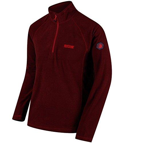 Regatta Mens Montes Lightweight Half Zip Summer Fleece Top Half Zip Lightweight Pullover