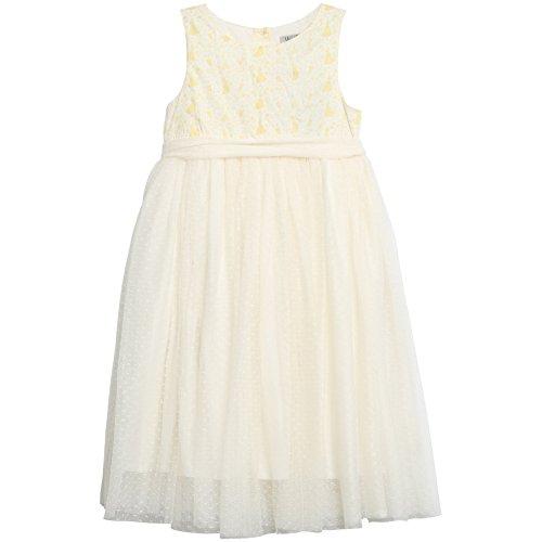 Wheat Mädchen Kleid Princess Tüll Disney, Mehrfarbig (Ivory 3182), 98 (Herstellergröße: 3y Preisvergleich