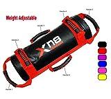 Xn8 Power Bag, gefüllt, Gewichtheben, Fitness, Training, Crossfit Fitness Boxen MMA Schwarz / Rot 20 kg